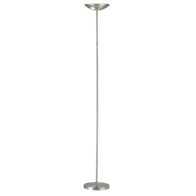 adesso mars led torchiere floor lamp 5135. Black Bedroom Furniture Sets. Home Design Ideas
