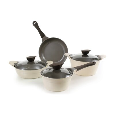 Eela 7 Piece Cast Aluminum Cookware Set by Neoflam