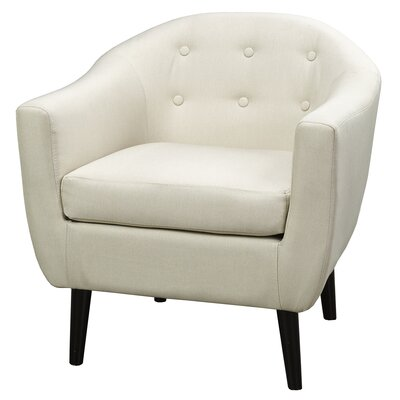 Mid Century Fabric Accent Chair by WorldWide HomeFurnishings