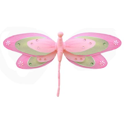 Dragonfly Hanging Triple Layered Nylon 3D Wall Decor by Bugs-n-Blooms