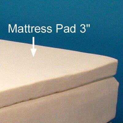 "Strobel Mattress Supple 3"" Polyester Overlay Pad"