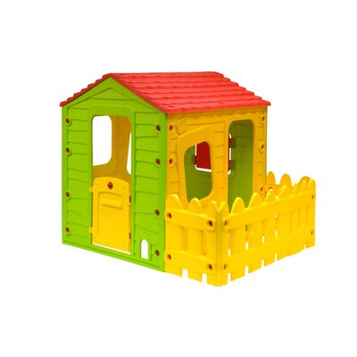 Fun Playhouse with One Side Fence Product Photo