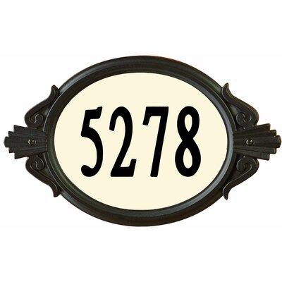 Designer's Choice Roman DIY Address Plaque by Enviromate
