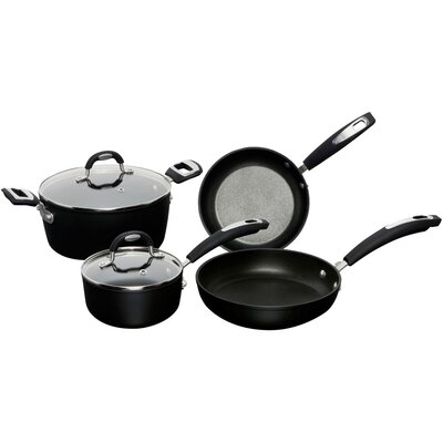 Taormina Induction 6-Piece Non-Stick Cookware Set by Ballarini
