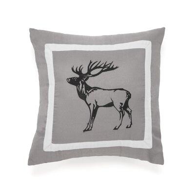 Snowfall Deer Decorative Throw Pillow by True Timber