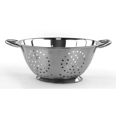 Durable Stainless Steel Deep Colander by Imperial Home