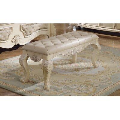 Monaco Bedroom Bench by Meridian Furniture USA
