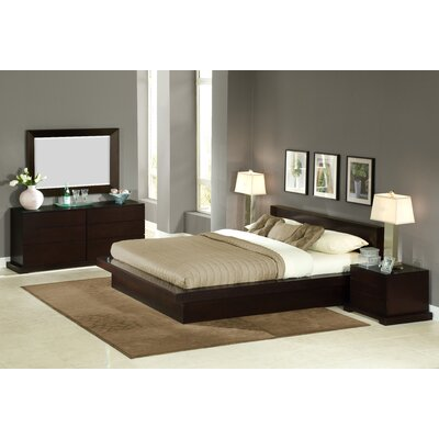 Zurich Platform 4 Piece Bedroom Set by LifeStyle Solutions
