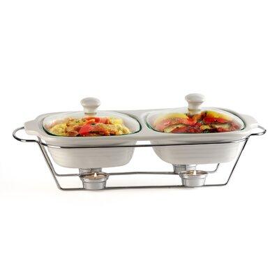 Buffet 2-qt. Oval Casserole by Circle Glass