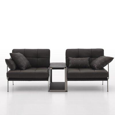 Catania 2 Piece Leather Sofa Set by Argo Furniture