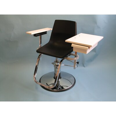 Hydraulically Adjustable Blood Drawing Chair with Drawer by Brandt Industries