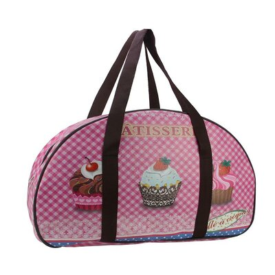 French Patisserie and Cupcake Travel Bag with Handles by NorthlightSeasonal