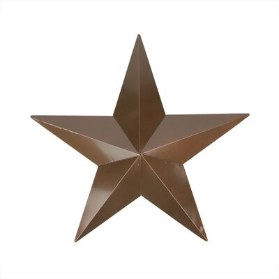Country Rustic Star Indoor/Outdoor Wall Decoration by NorthlightSeasonal