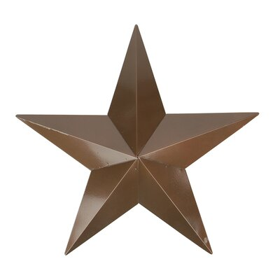 Weathered Patina Copper Country Rustic Star Indoor/Outdoor Wall Decoration by NorthlightSeasonal