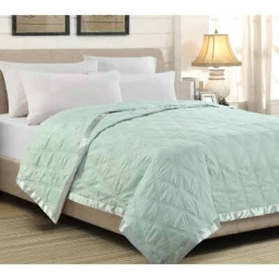 Double Diamond Throw Blanket by Universal Home Fashions