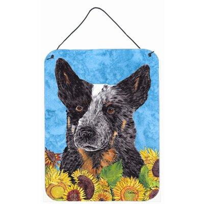 Australian Cattle Dog Aluminum Hanging Painting Print Plaque by Caroline's Treasures