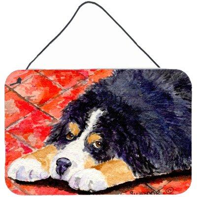Bernese Mountain Dog Indoor Aluminum Hanging Painting Print Plaque by Caroline's Treasures