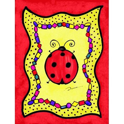 Lady Bug 2 Sided Garden Flag Wayfair