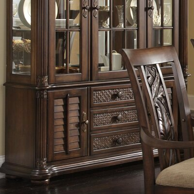 Palm Court II China Cabinet Deck by Darby Home Co