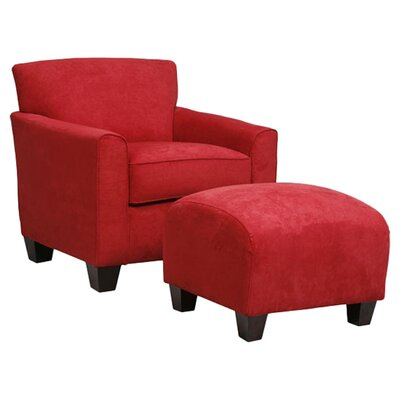 Phyllis Arm Chair & Ottoman by Darby Home Co