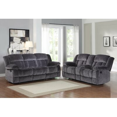 Darby Home Co DBHC2531 Danford Double Reclining Sofa