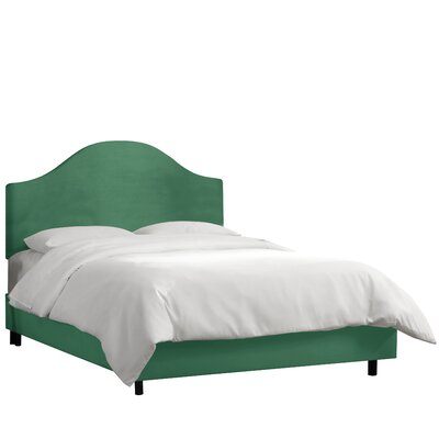 Regal Upholstered Panel Bed by Alcott Hill