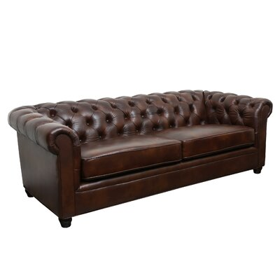 Charlton Home CHLH2154 Pratolina Leather Sofa