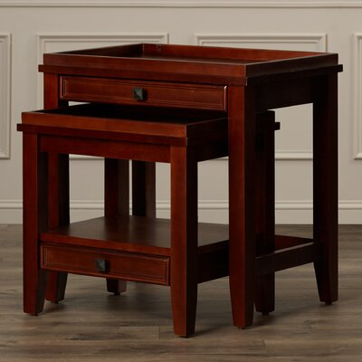 Alington 2 Piece Nesting Tables by Charlton Home