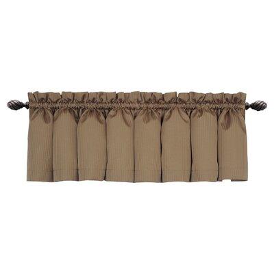 "Wensley Rod Pocket Tailored 54"" Curtain Valance Product Photo"