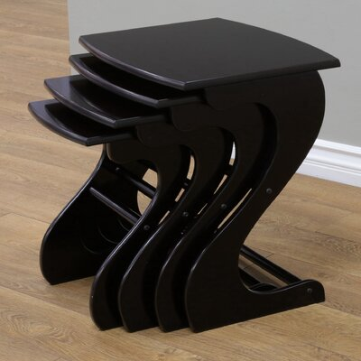 4 Piece Nesting Tables by Charlton Home