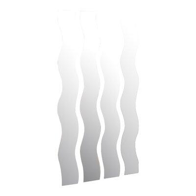 Wave Strip Wall Mirror by Brayden Studio