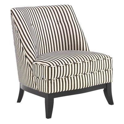 Tuxedo Slipper Chair by Wade Logan