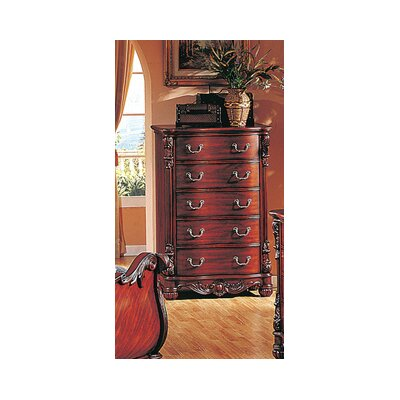 5 Drawer Lingerie Chest by BestMasterFurniture