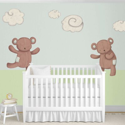 Teddy Bears and Cloud Wall Stickers by My Wonderful Walls