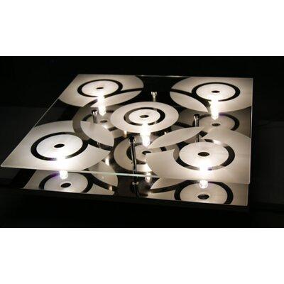 5 Light Flush Mount Product Photo