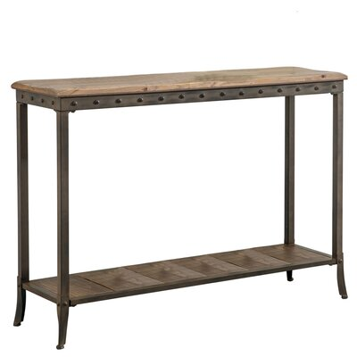 2 Tier Rectangle Console Table by !nspire