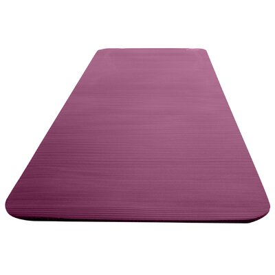 Deluxe Fitness Mat with Carry Strap by Empower