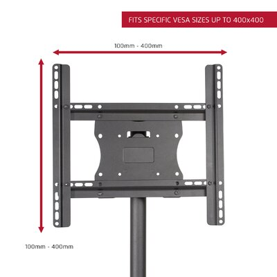 "Stationary Floor Mount for 26""- 50"" Flat Panel Screens Product Photo"