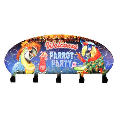 Cabana Parrot Party Coat Rack by Next Innovations
