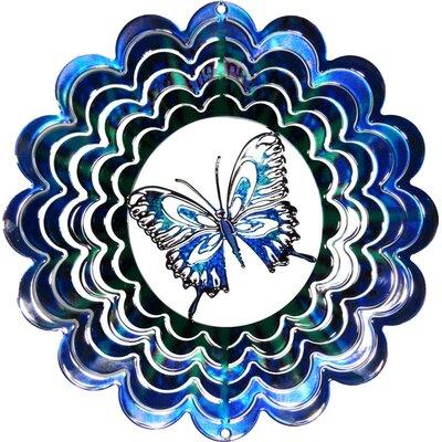 Next Innovations Eycatcher Kaleidoscope Butterfly Wind Spinner