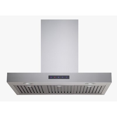 "30"" 860 CFM Ducted Wall Mount Range Hood in Stainless Steel Product Photo"
