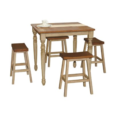 Grenoble 5 Piece Pub Table Set by Lark Manor