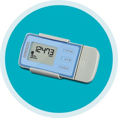 Pedometer with USB by Omron