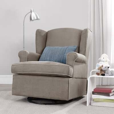 Swivel Glider in Dark Taupe by Baby Relax