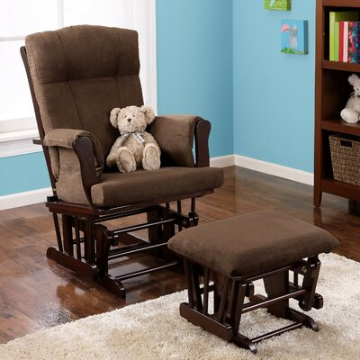 Glider Rocker & Ottoman by Baby Relax