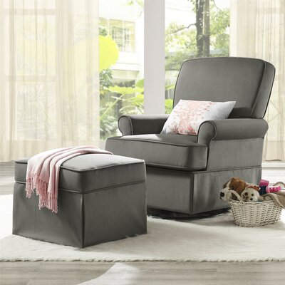 Varna Swivel Glider and Ottoman by Baby Relax