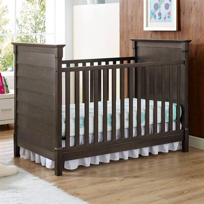 Slade Rustic 2-in-1 Convertible Crib by Baby Relax
