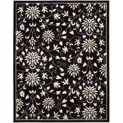 Versaille Palace Black/White Rug by Nourison