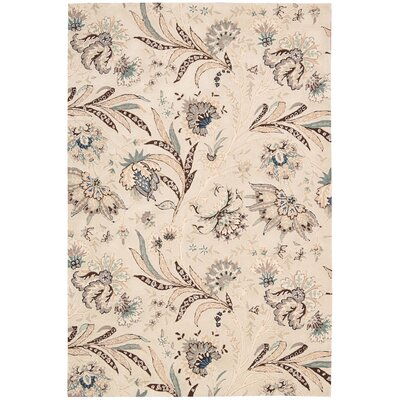 Nourison Gatsby Ivory Floral Area Rug