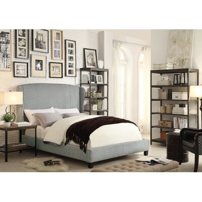 Mulhouse furniture chavelle queen upholstered panel bed - Boutique free mulhouse ...